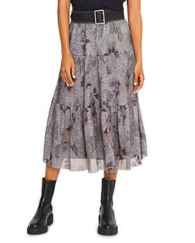 ba&sh - Land Floral Print Midi Skirt