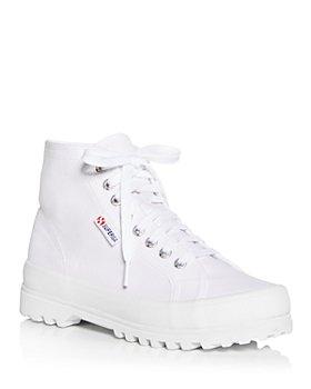 Superga - Women's Alpina Cotu High Top Platform Sneakers