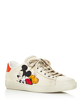 Gucci - x Disney Women's Ace Mickey Mouse Low Top Sneakers