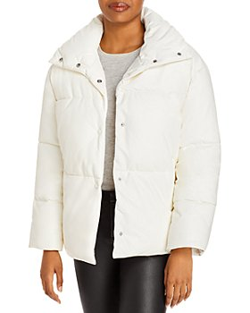 BAGATELLE.NYC - Oversize Faux Leather Puffer Jacket