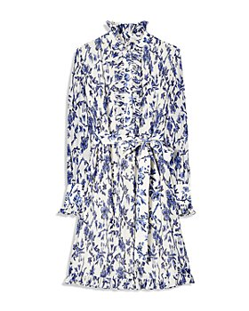 Tory Burch - Deneuve Floral Print Ruffled Dress