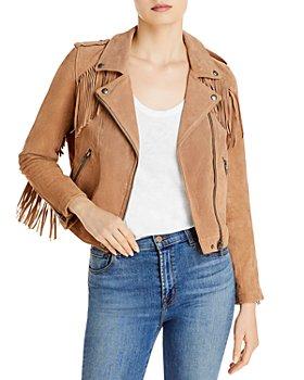 BLANKNYC - Fringed Moto Jacket