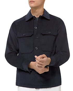 Michael Kors - Cotton Corduroy Regular Fit Shirt Jacket