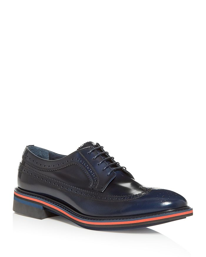 Paul Smith MEN'S CHASE BROGUE WINGTIP OXFORDS