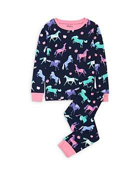 Hatley - Girls' Happy Horses Cotton Pajamas - Little Kid, Big Kid
