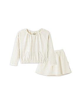 Habitual Kids - Girls' Kiara Striped Top & Skirt Set - Little Kid