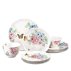 Lenox Butterfly Meadow 12 Piece Dinnerware Set