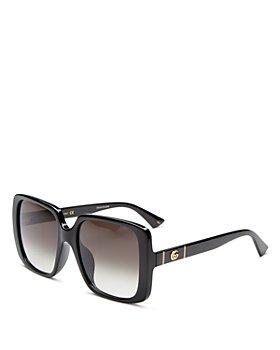Gucci - Women's Square Sunglasses, 56mm