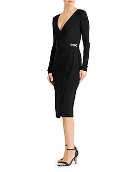 Ralph Lauren - Matte Crossover Dress