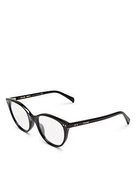 CELINE - Women's Cat Eye Clear Glasses, 52mm