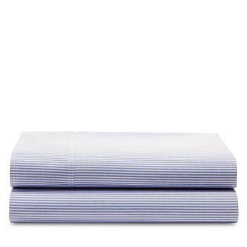 Ralph Lauren - Oxford Stripe Cotton Flat Sheet, Twin