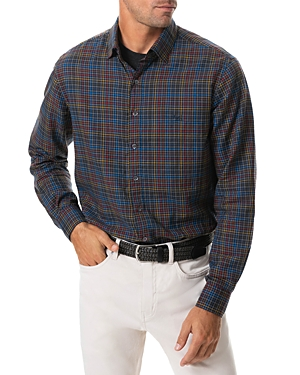 Rodd & Gunn Petone Cotton Checked Regular Fit Flannel Button Up Shirt