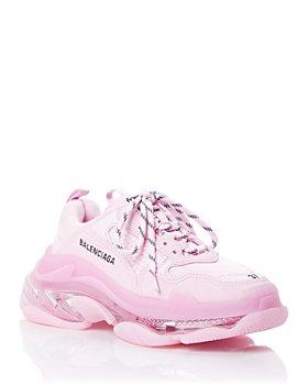 Balenciaga - Women's Triple S Clear Sole Chunky Sneakers