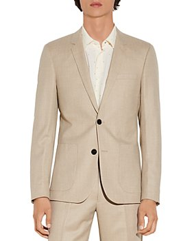 Sandro - Jupiter Wool Flannel Suit Jacket