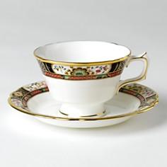 "Royal Crown Derby - ""Chelsea Garden"" Tea Saucer"