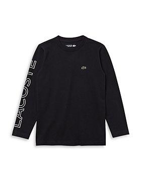 Lacoste - Boys' Long Sleeve Logo Tee - Little Kid, Big Kid