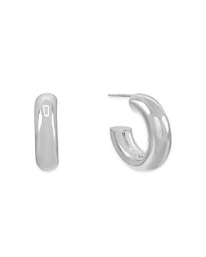 Adina's Jewels Wide Hollow Open Hoop Earrings