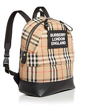Burberry - Kids' Small Nico Check Backpack