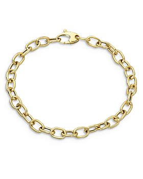 Zoe Lev - 14K Yellow Gold Anchor Chain Bracelet