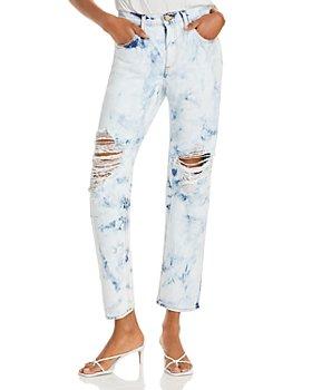 Ramy Brook - Elle Distressed Acid-Wash Boyfriend Jeans