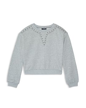 Joe's Jeans - Girls' The Nora Embellished French Terry Sweatshirt - Big Kid