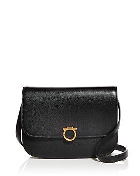 Salvatore Ferragamo - Leather Saddle Bag