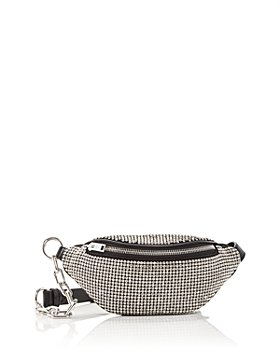 Alexander Wang - Attica Embellished Soft Leather Mini Belt Bag