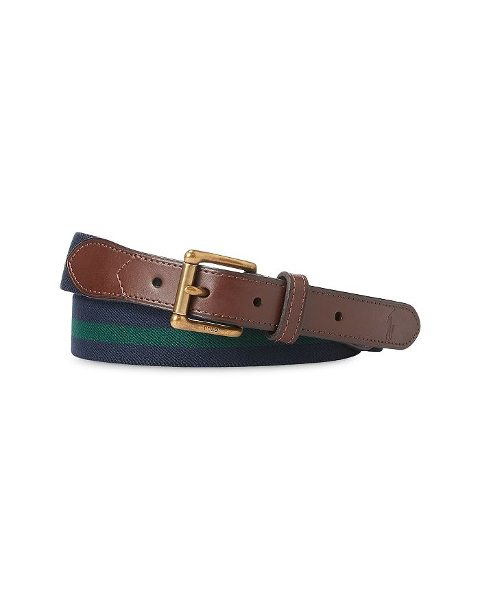 Polo Ralph Lauren - Men's Collegiate Striped Stretch Belt