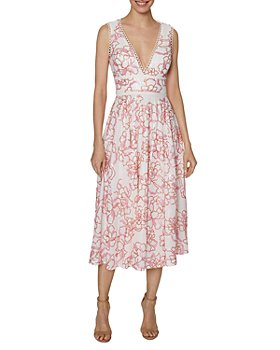 Laundry by Shelli Segal - Sequin Embroidered Midi Dress