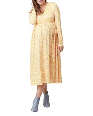 Nom Maternity Augusta Crossover Nursing Dress