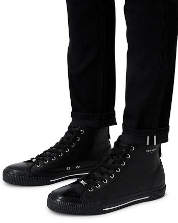 The Kooples - Men's Leather High Top Sneakers