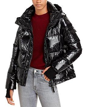 AQUA - Lacquer Ella Puffer Jacket - 100% Exclusive