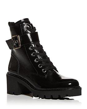 Paul Green - Women's Dynamite Block Heel Combat Boots