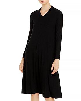 Eileen Fisher - V Neck Dress