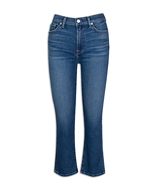 7 For All Mankind High Waist Slim Kick Flare Jeans in Court St