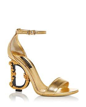 Dolce & Gabbana - Women's D&G Sculpted High Heel Sandals