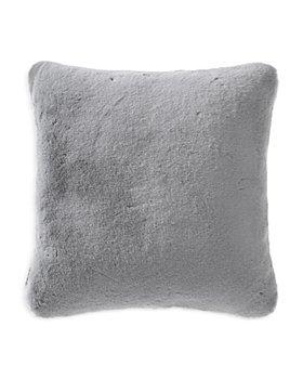"Vera Wang - Lapin Faux Fur Decorative Pillow, 20"" x 20"""