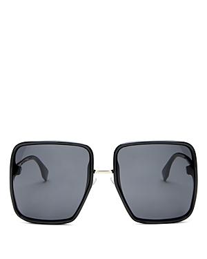 Fendi Women\\\'s Square Sunglasses, 59mm-Jewelry & Accessories