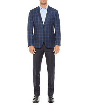 Armani - Regular Fit Wool Plaid Jacket