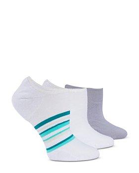 HUE - Cushioned No-Show Socks, Pack of 3