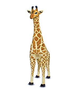 Melissa & Doug - Giant Plush Giraffe - Ages 3+