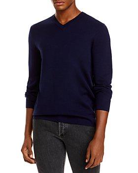 Theory - Arnaud Erhart Wool V Neck Sweater