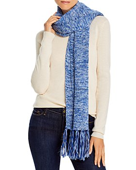 AQUA - Marl Knit Scarf - 100% Exclusive