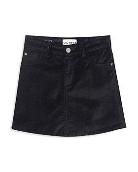 DL1961 - Girls' Jenny Velvet Skirt - Big Kid