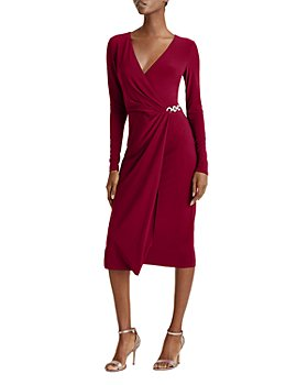 Ralph Lauren - Matte Jersey Crossover Dress