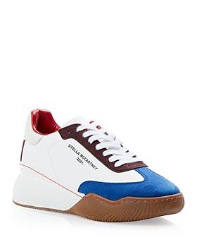 Stella McCartney - Women's Loop Vegan Leather Low Top Sneakers