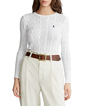 Ralph Lauren - Cable Knit Crewneck Sweater