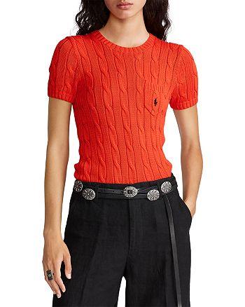 Ralph Lauren - Cable Short Sleeve Sweater