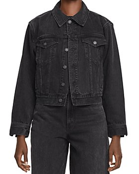 AGOLDE - Blanca Jean Jacket in Double Exposure