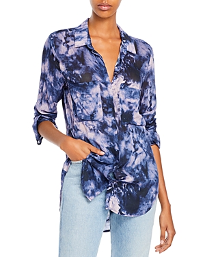 Tie Dyed Button Up Shirt